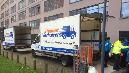 Voordelen studenten verhuisservice
